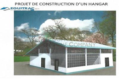 Construction Plan of Sophie Anne Company Hangar in N'Zerekore, Guinea